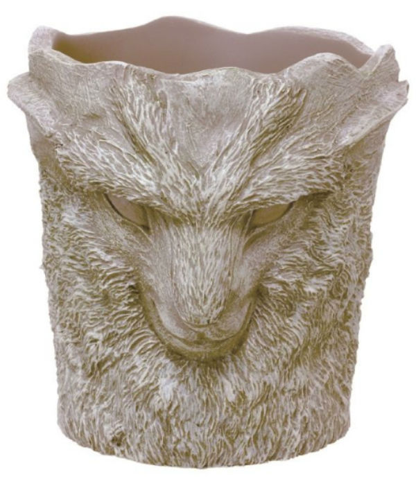 Keep your flowers alive with this planter shaped like the forest god from Princess Mononoke