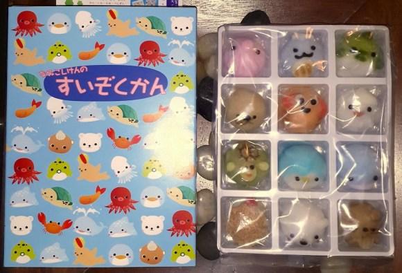 Namikoshiken wagashi Suizokukan Aquarium set