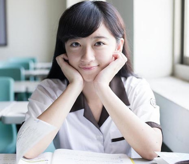 Cute or creepy? Yuki Aoyama's new photo book 'Taiwan Kawaii School Girl'