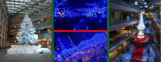 Tokyo's Christmas displays offer dazzling rebuttal to calling Paris the City of Lights 【Photos】