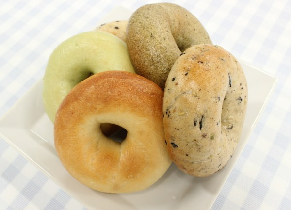 Seaweed and soy beans and mushrooms, oh my! New Japanese-style bagels coming soon
