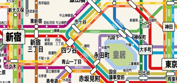 Dedicated railroad otaku creates the digital swiss army knife of Tokyo Metro maps