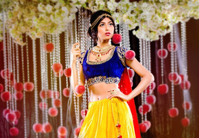 Disney princesses re-imagined as Indian brides! Which gorgeous gown is your favourite?