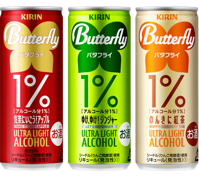 Kirin to release line of 1% drinks, we're not entirely sure why either