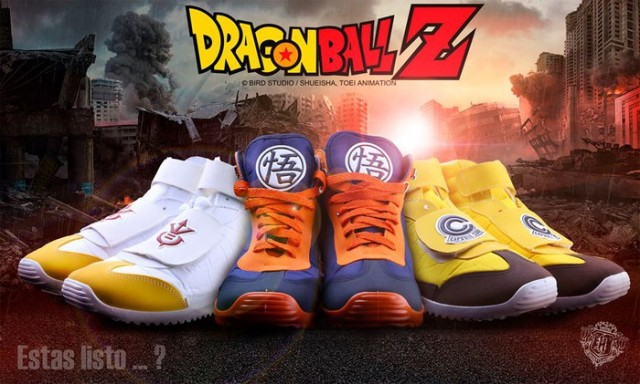 Mexican apparel company offers sweet Dragon Ball Z sneakers