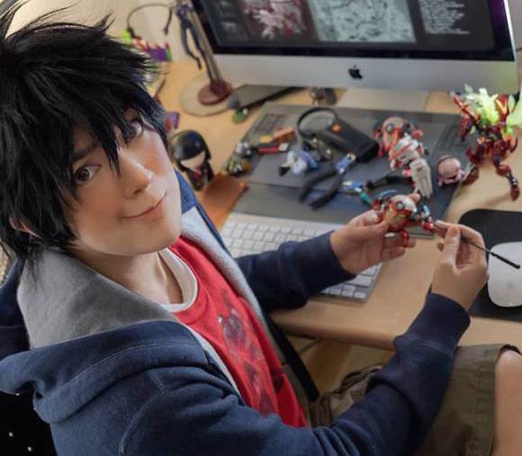 """Is that you, Hiro?"" This kid's Big Hero 6 cosplay is out of this world! 【Photos】"