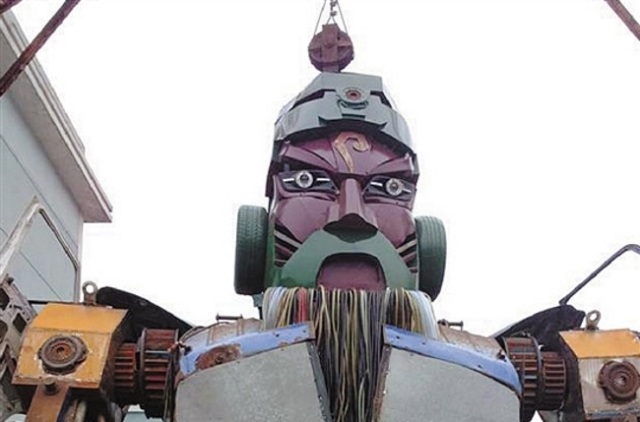 The Guan Yu Gundam: a story of passion and friendship