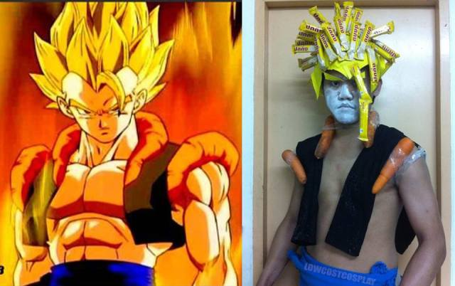 Nailed it: Thai man's low budget cosplay is a gift to the Internet【Photos】