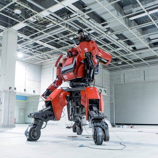 Want to buy a giant, rideable robot? Amazon Japan will sell you one