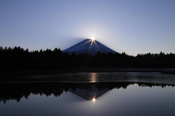 Diamond Fuji: One of the most beautiful views of Japan's iconic mountain
