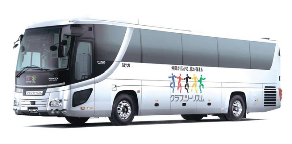 Around Japan in 22 days…on a bus! (Yes, it has a toilet.)