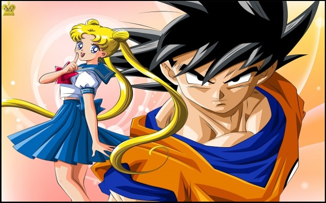 "Dragon Ball Z and Sailor Moon together? This talented artist says, ""Yes!"" 【Pics】"