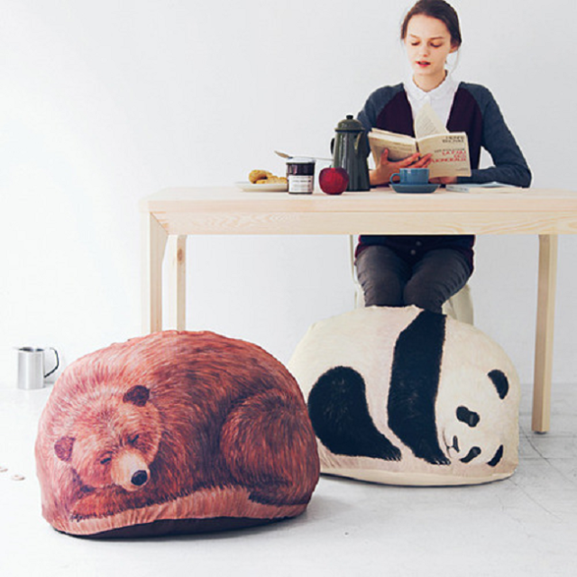 There could be a panda in your closet, and a blanket inside the panda with these storage cases