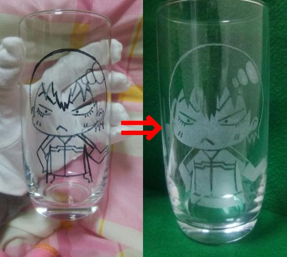 Creating your own custom etched glass is a lot simpler than you think