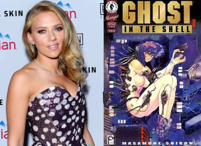 Variety: Scarlett Johansson signs on to Hollywood's Ghost in the Shell