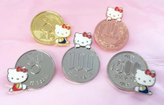 Hello Kitty keeping as busy as ever — this time she collaborates with…money itself!