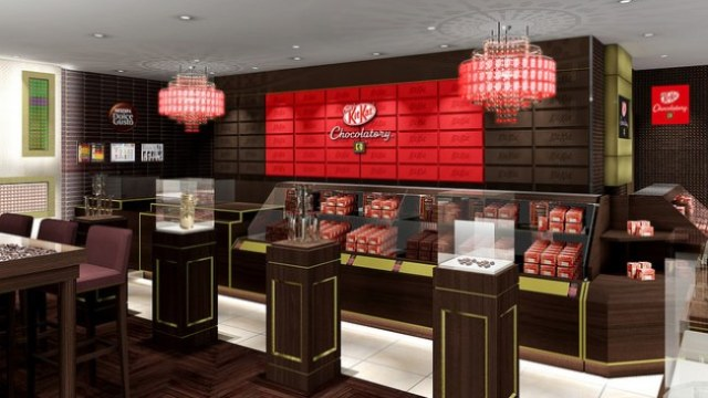 First Kit Kat Chocolatery shop with cafe opens in Kyoto! New Chocolatery items released too