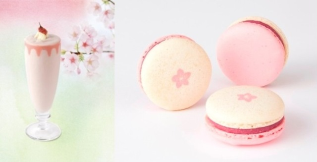 Lindt Japan brings spring to their shops with beautiful pink sakura drinks and macarons!