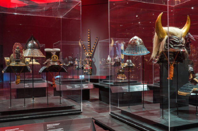 The City of Angels is now the City of Samurai with Los Angeles museum's awesome armor exhibition