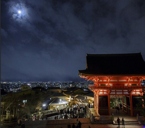 View beautiful photos of Kyoto's Kiyomizu Temple any time on their new instagram account