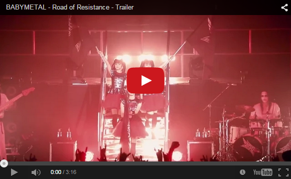 "BABYMETAL release trailer for new song ""Road of Resistance"" featuring guitars by DragonForce"