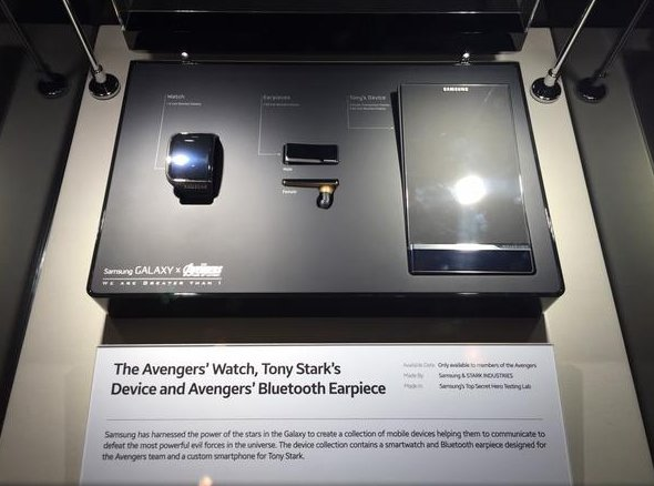 Tony Stark will have a see-through Samsung phone in 'The Avengers' sequel
