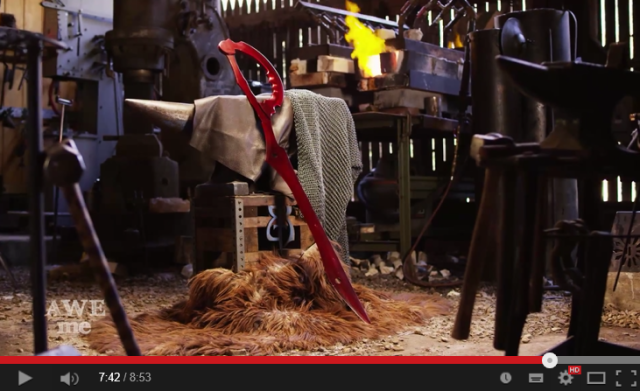 Web series' anime arsenal expands with real-life version of Kill la Kill's Scissor Blade【Video】