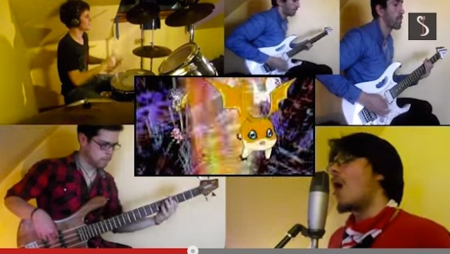 Anime cover band Inheres has us rocking out to Dragon Ball, Slam Dunk and more…in Spanish!