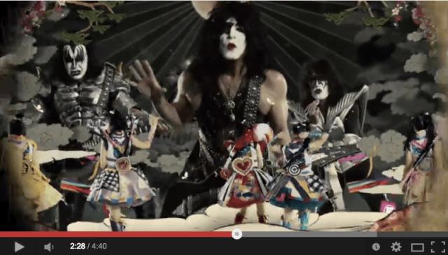 'Momoiro Clover Z vs. KISS' full musicvideo features Sushio's animation