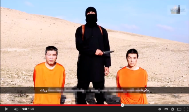 New video claims one Japanese ISIS hostage killed, authenticity of video under investigation