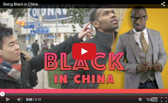 """If you are eating chocolate, how do you know where to stop?"" – Being Black in China 【Video】"