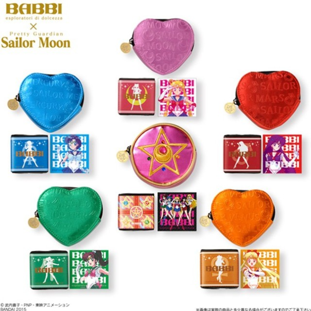 Sailor Moon sweetness arrives as Babbi chocolates for Valentines, and with extra goodies too!