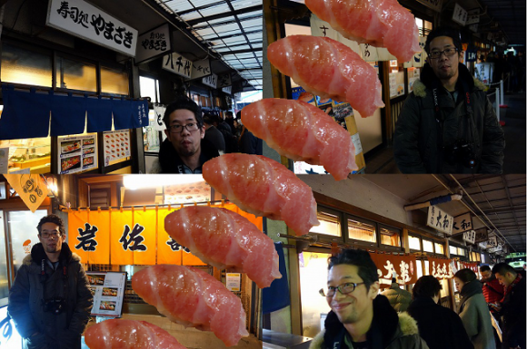 Let's take a tour of the best sushi in Tokyo's Tsukiji Fish Market with Mr. Sato! (Part 1)