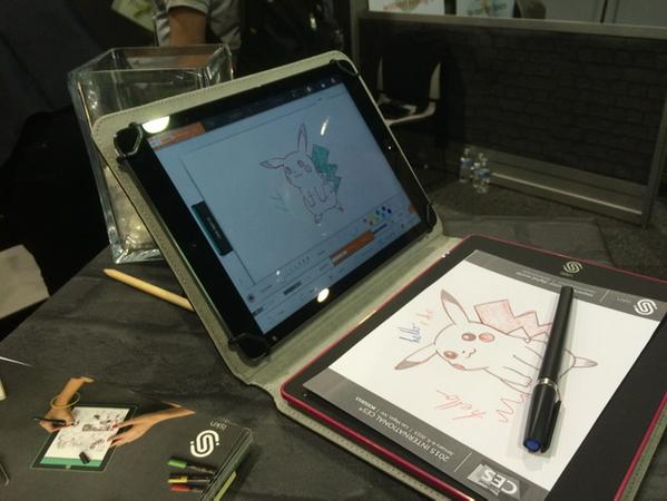 "New magnetic ""slate"" lets you write on actual paper, digitize your drawings in real-time"