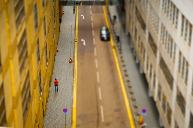 Mini-sized Hong Kong? These photos by French photographer will make you look twice