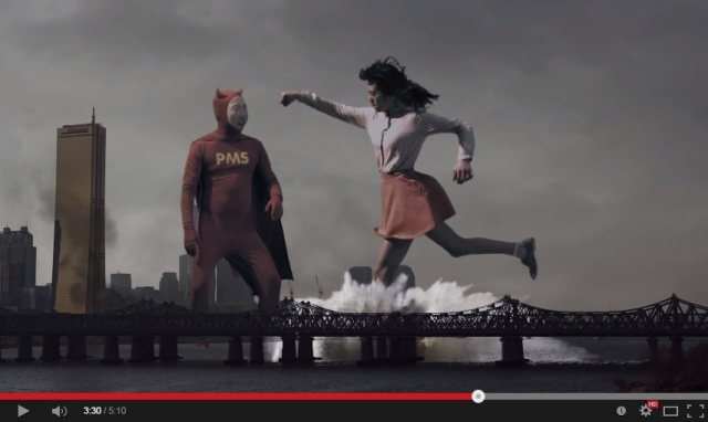 When K-pop clashes with Sci-fi, singing about PMS suddenly becomes a trendy thing【Video】