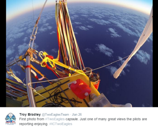 Images float in from around Japan of record-breaking balloon flight【Photos】