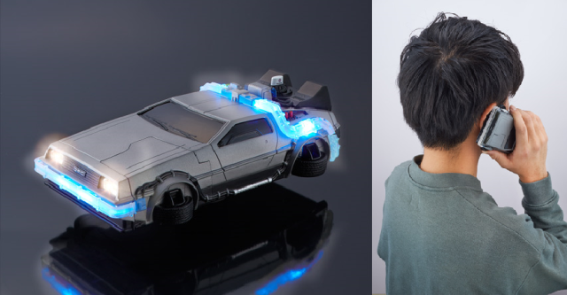 Still no hoverboards, but 2015 has now given us this cool Back to the Future Delorean iPhone case