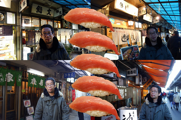 Continuing our tour of the best sushi in Tokyo's Tsukiji Fish Market with Mr. Sato! (Part 2)