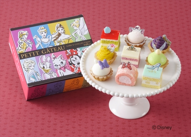Disney Girls turned into beautiful bite-sized cakes with sweet collection from Cozy Corner!