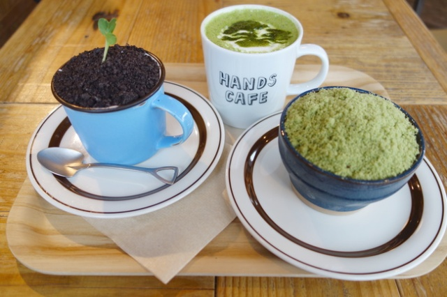 Tiramisu soil and a moss parfait: We dig into bonsai treats at Tokyu Hands Cafe
