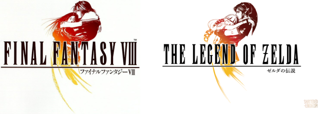 Final Fantasy and The Legend of Zelda come together in awesome fan art logo mashups 【Photos】
