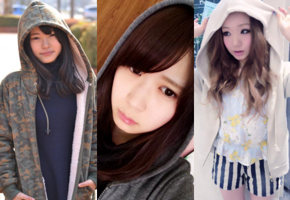"From crim to cute: Japanese ""Hooded Girls"" transform the once-feared hoodie image 【Pics】"