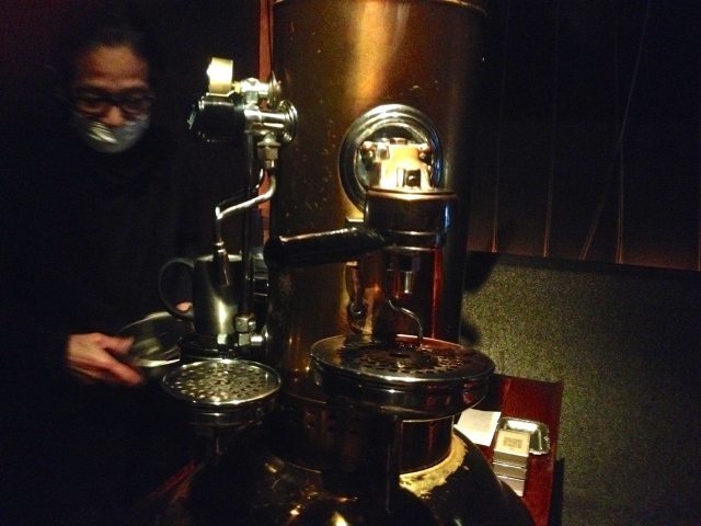 Coffee wizard performs snack alchemy in not-so-secret lair
