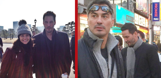 As Keanu Reeves sightings continue in Tokyo, we ask: Got time for a bowl of your favorite ramen?