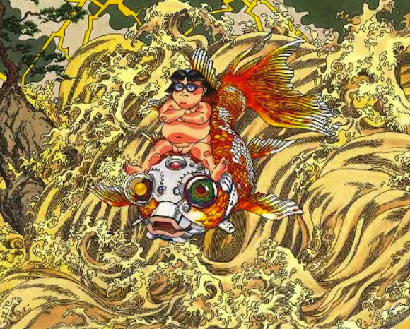 Akira creator Katsuhiro Otomo's sprawling mural will soon welcome travelers at Sendai Airport