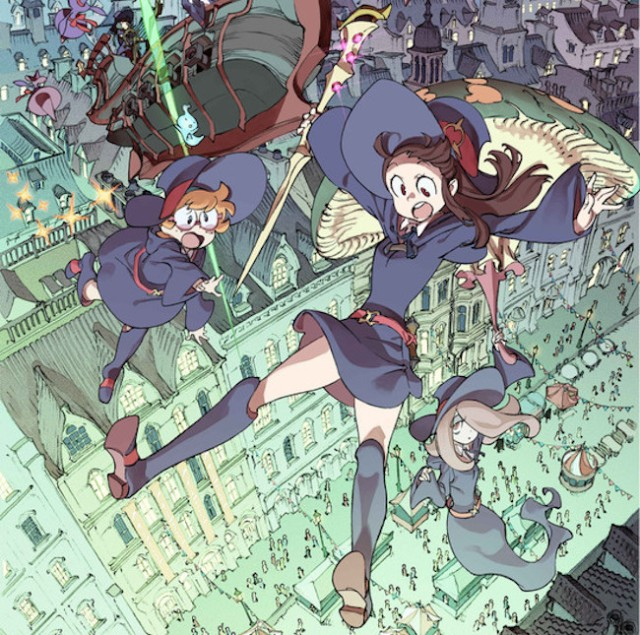 Little Witch Academia sequel's title, 2015 theatrical release unveiled