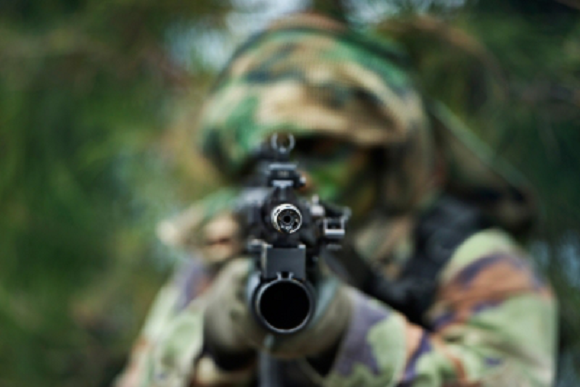 Which 15 countries have the least violent armed forces in the world?