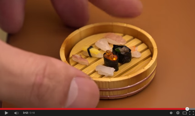 Mini-mania! Real Japanese food, but in hamster-sized portions 【Video】