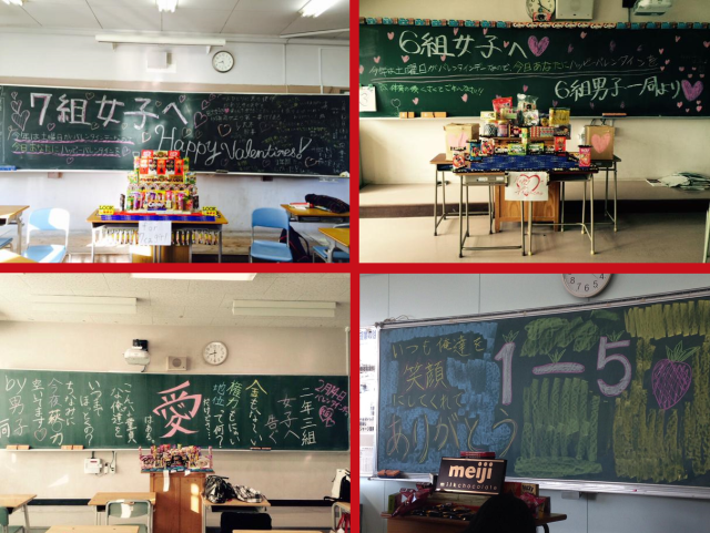 Reverse Valentine's Day comes to Japanese high schools as girls finally get presents from guys